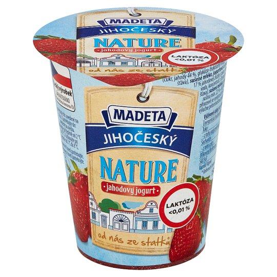 Madeta Jihočeský nature jahodový jogurt 150g