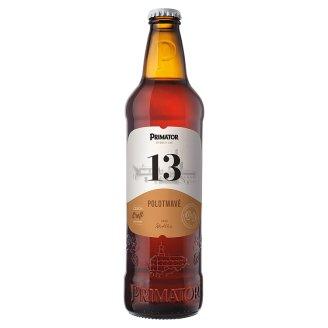 PRIMÁTOR Polotmavý 13% speciální polotmavé pivo 0,5l