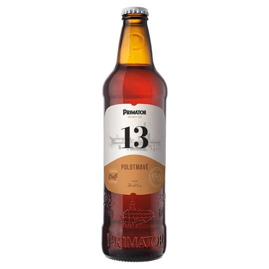 Primátor 13 polotmavé speciální pivo 0,5l