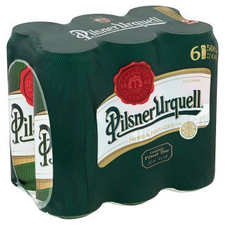 Pilsner Urquell Lager Beer 6 x 500ml