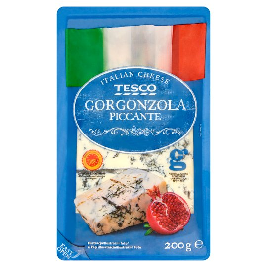 Tesco Gorgonzola Piccante 200g
