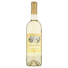 Mona's White bílé víno polosladké 0,75l