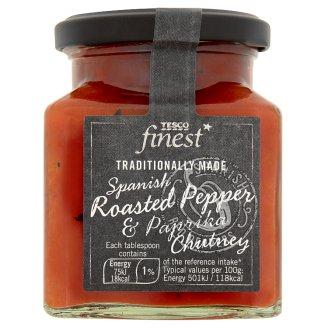 Tesco Finest Chutney z červené papriky 270g