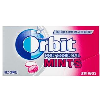 Wrigley's Orbit Professional Mints Lesní ovoce bez cukru 18 bonbónů 18g
