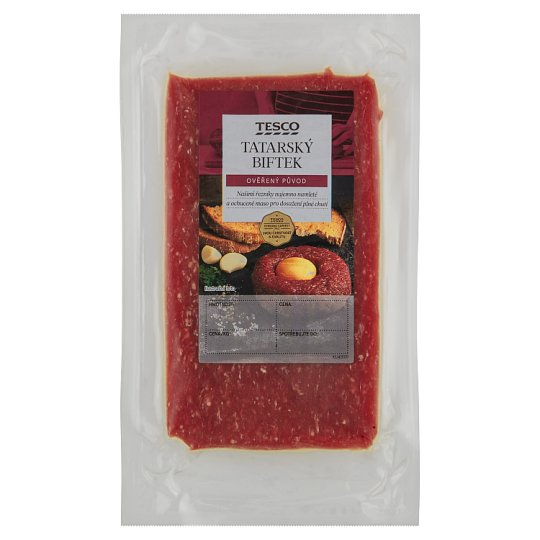 Tesco Beef Tartate 250g