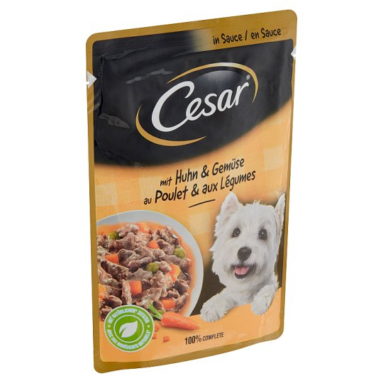 Cesar Tasty Chicken with Vegetables 100g