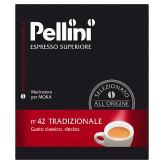 Pellini N.42 Tradizionale mletá káva 250g