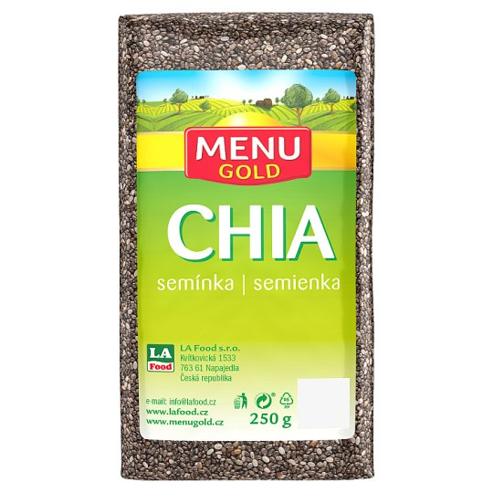 Menu Gold Chia Seeds 250g