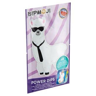 Despicable Me Power Dips lízátko s příchutí jahody a práskacím práškem 12g