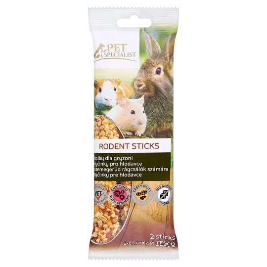 Tesco Pet Specialist Rodent Sticks 2 pcs 112g
