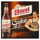 Litovel Gustav 13° nefiltrované polotmavé speciální pivo 8 x 0,5l