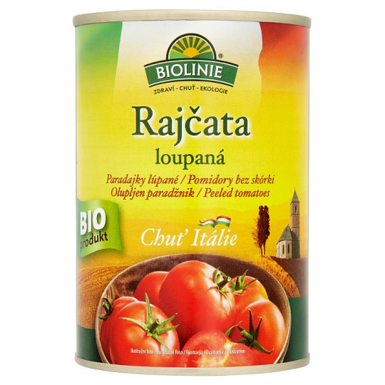 Biolinie Peeled Tomatoes 400g
