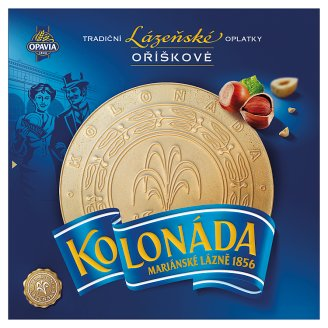 Opavia Kolonáda Original Czech Spa Wafers with Hazelnut Filling 175g