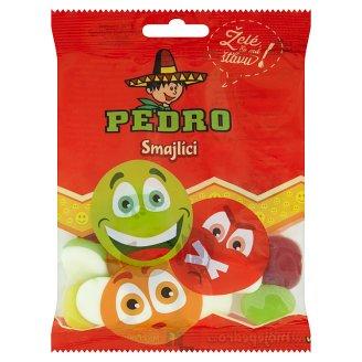 Pedro Smajlíci cukrovinky, želé s ovocnými příchutěmi 80g