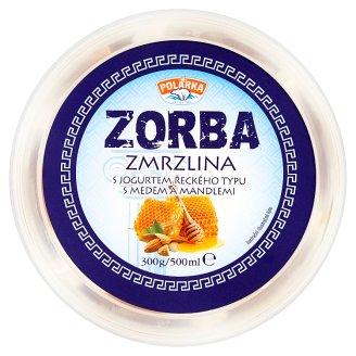 Polárka Zorba Zmrzlina s jogurtem řeckého typu s medem a mandlemi 500ml
