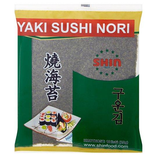 Shin Food Seaweed Kim (NORI) for Sushi 10 Sheets 25g