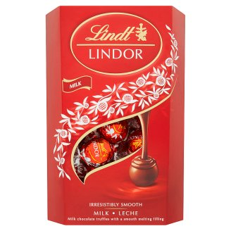 Lindt Lindor Milk Chocolate Truffles with Smooth Melting Filling 337g
