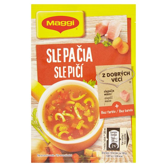 MAGGI Chutná pauza Slepičí instantní polévka sáček 12g