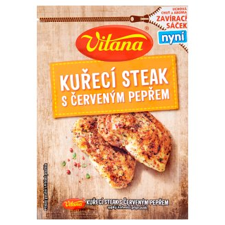 Vitana Chicken Steak with Red Pepper 28g