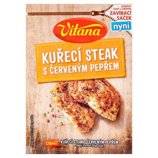Vitana Kuřecí steak s červeným pepřem 28g