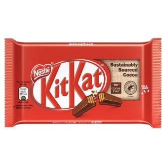 NESTLÉ KITKAT 4 FINGER Oplatka v mléčné čokoládě 41,5g