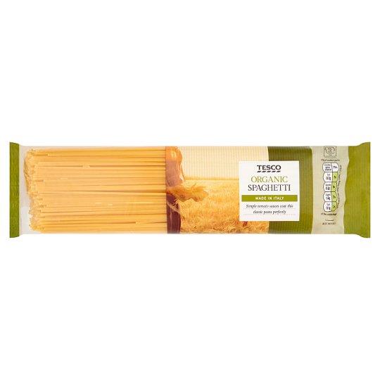 Tesco Organic Wholewheat Pasta 500g