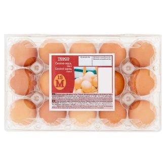 Tesco Čerstvá vejce M 15 ks