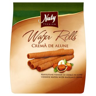Naty Premium Wafers Tube with Hazelnut Cream 100g