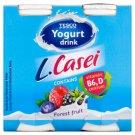 Tesco Jogurtový nápoj s příchutí lesních plodů a s L. paracasei 4 x 100g