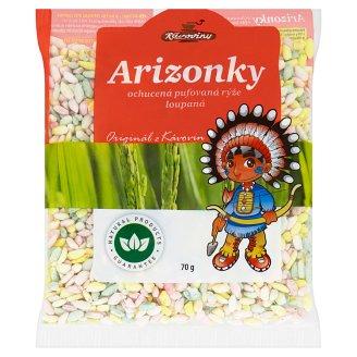 Kávoviny Arizonky Flavoured Puffed Peeled Rice 70g