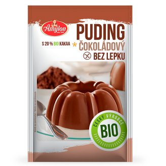 Amylon Bio Chocolate Pudding Gluten Free 40g
