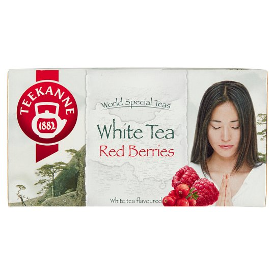TEEKANNE White Tea Red Berries, World Special Teas, 20 sáčků, 25g
