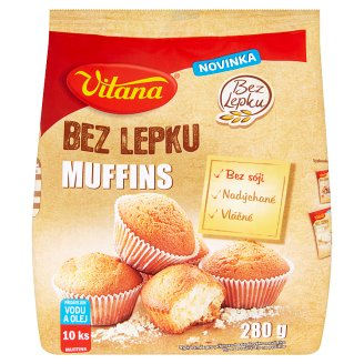 Vitana Bez Lepku Muffins 280g
