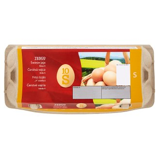 Tesco Fresh Eggs S 10 pcs
