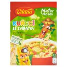 Vitana Natur Pro Děti Chicken Soup with Little Animals 56g