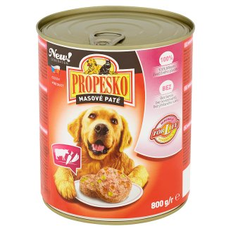 Propesko Meat Paté with Beef and Vegetables 800g