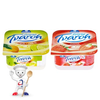 Milko Fruit Curd 130 g Different Flavours