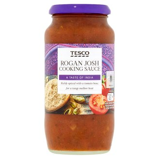 Tesco Rogan Josh Moderately Spicy Tomato Sauce with Onions 500g