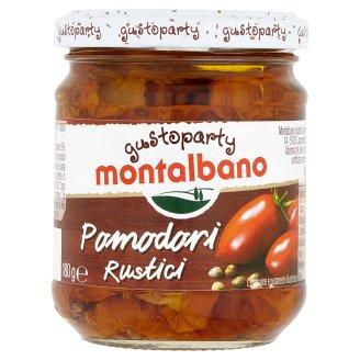 Montalbano Gustoparty Sušená rajčata ve slunečnicovém oleji 212ml