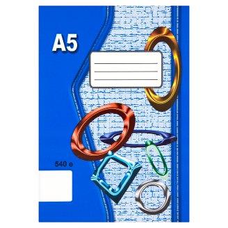 Papírny Brno 540e školní sešit A5 nelinkovaný 40 listů