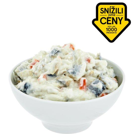 Fish Salad with Yogurt