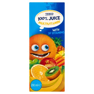 Tesco 100% Multivitamin Juice 200ml