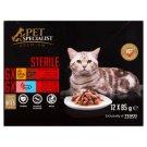 Tesco Pet Specialist Premium Sterile kousky v omáčce 12 x 85g