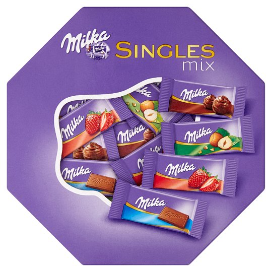 Milka Singles Mix 138g