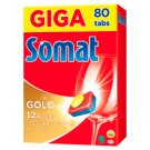 Somat Gold Dishwasher Tablets 80 pcs 1520g