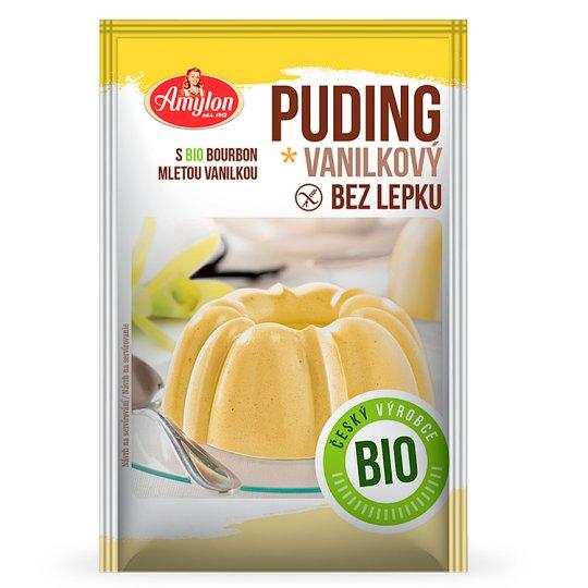 Amylon Bio Vanilla Pudding Gluten Free 40g
