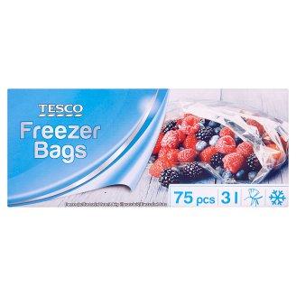 Tesco Freezer Bags 3L 75 pcs