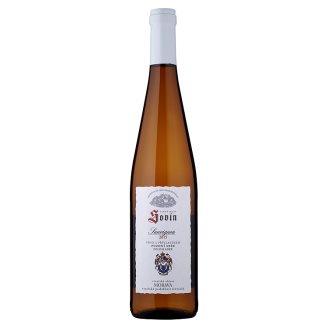 Sovín Sauvignon víno s přívlastkem pozdní sběr polosladké 0,75l