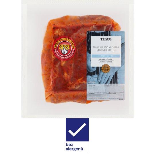 Tesco Marinated Pork Neck Porto 0.600kg