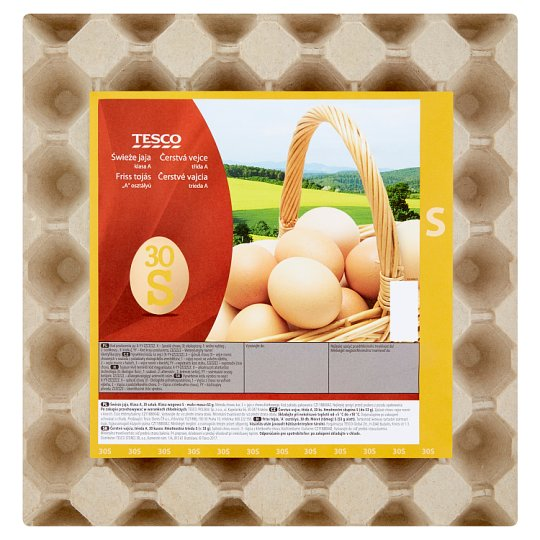 Tesco Fresh Eggs S 30 pcs